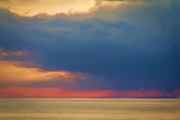 Lake Michigan Sundown
