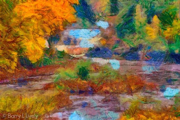Autumn, Tahquamenon River, Upper Peninsula,Michigan
