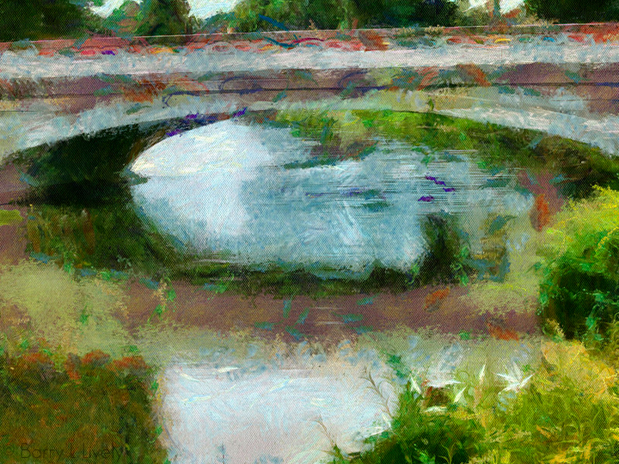 Bridge After Monet