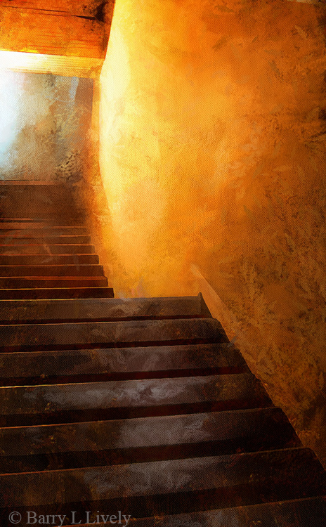Light on thestairs