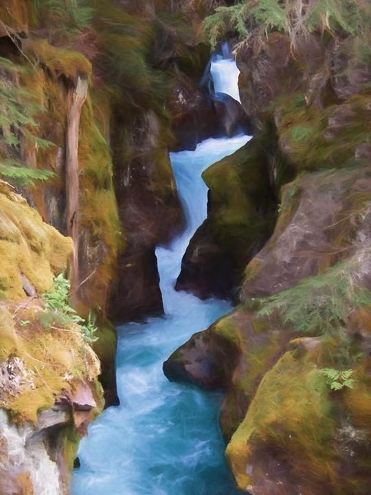 Avalanche Creek, Glacier NationalPark