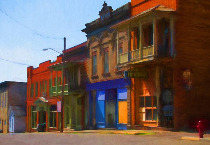 Street scene (reworked)