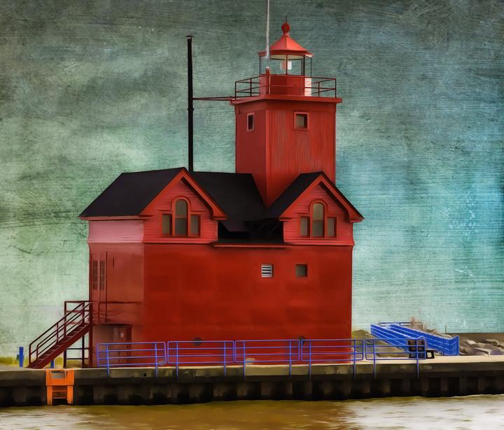 Big Red lighthouse, Holland,MI