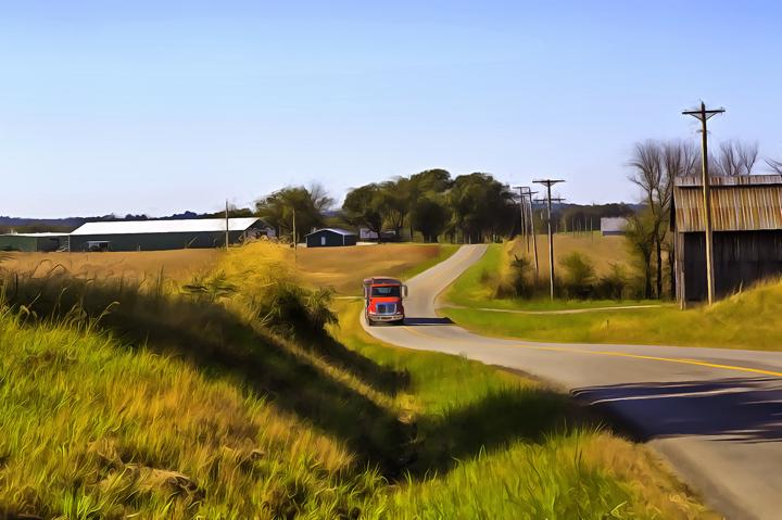 Country road inKentucky